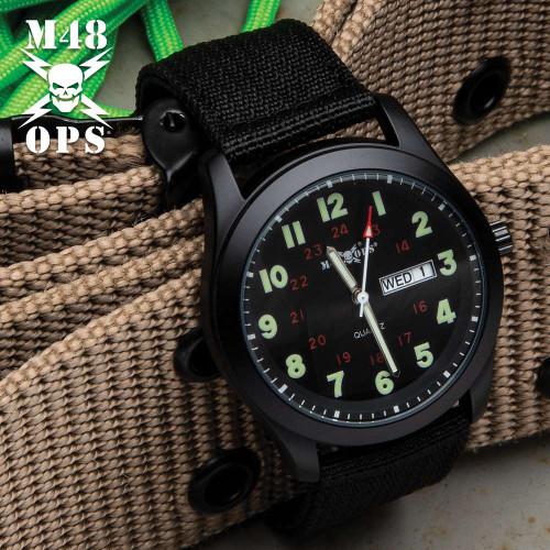 M48 Black NATO Watch