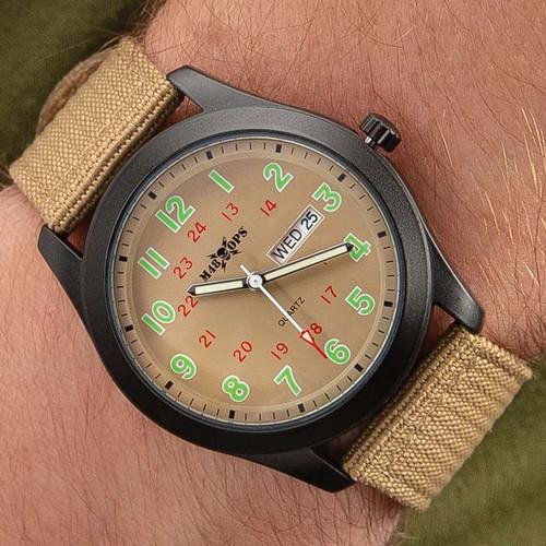 M48 Tan NATO Watch
