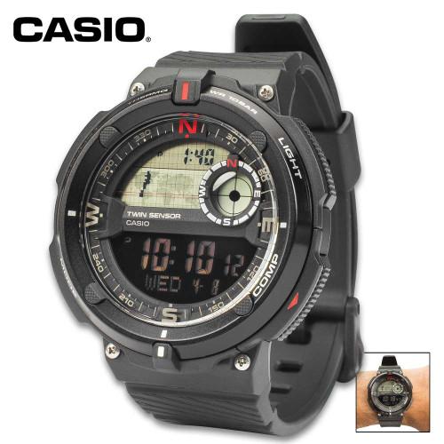 Casio Core Sport Black Bezel Watch