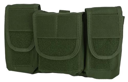 TMC MS Style Triple Pocket General Purpose Pouches - OD Green