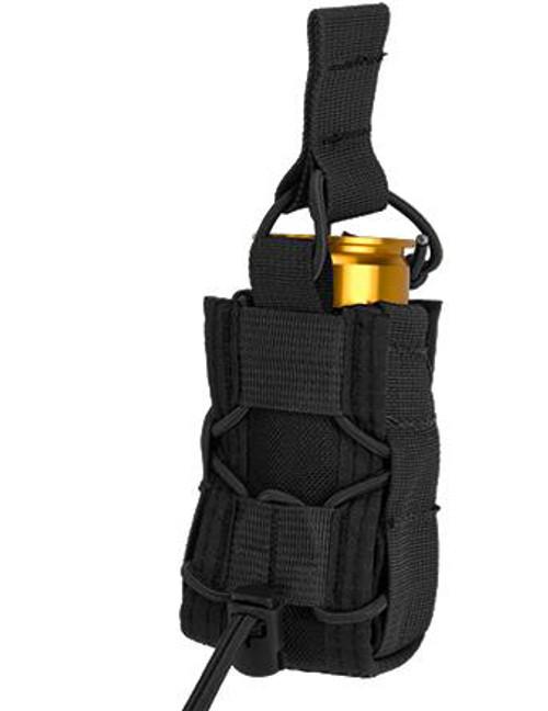 High Speed Gear HSGI TACO Single 40mm Grenade MOLLE Pouch (Color: Black)