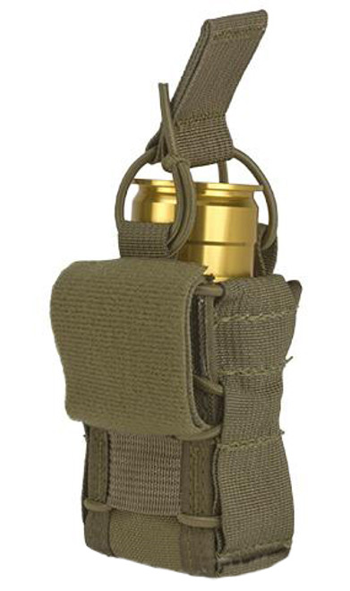 High Speed Gear HSGI TACO Single 40mm Grenade Belt Mount Pouch (Color: Coyote Brown)