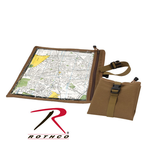 Rothco Map & Document Case - Coyote Brown