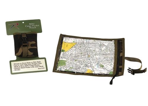 Rothco Map & Document Case - Woodland Camo
