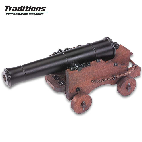 Old Ironsides Mini Cannon - Blued Finish