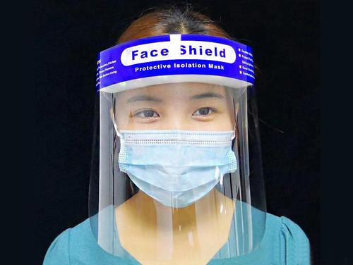 Reusable Splash Protection Face Shields