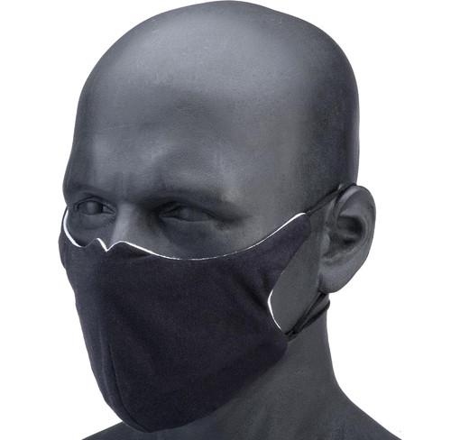 Vi-Mask Anti-Viral Nanotech Face Mask (Size: Black)