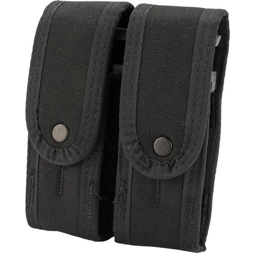 HSGI Covered Duty Double Pistol TACO with Universal Mount (Color: Black)