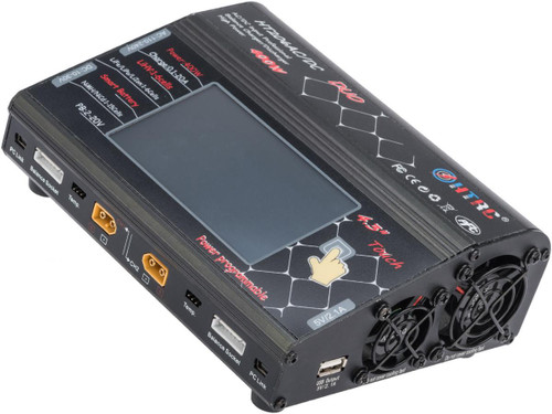 HTRC HT206 DUO Touchscreen Dual Channel Multi-Function LiPo / Li-Ion / NiMH Smart Balance Charger
