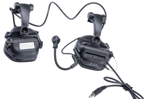 Earmor M32X Mark 3 Tactical Communications Headset for FAST Style ARC Rails