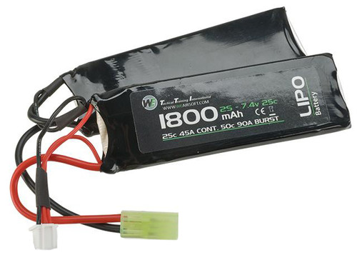 WE-Tech 7.4V 25C 1800mAh Li-Po Battery - Nunchuck Type