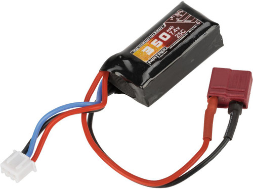 Matrix 7.4V 350mAh 25C Micro Type LiPo Battery with Deans Connector