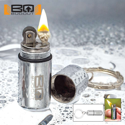 BugOut Water-Resistant Micro Lighter On Keyring