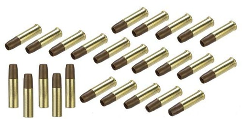 Spare Brass Shells for WinGun / Dan Wesson Series 6mm Airsoft Co2 Revolvers - Set of 25