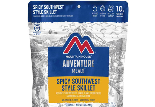 Mountain House Freeze Dried Camping Food (Menu: Spicy Southwest Style Skillet)