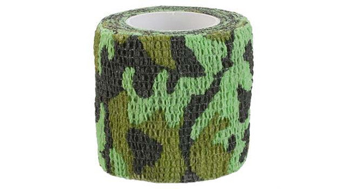 "Element Airsoft Protective Camo Wrap (Color: Evergreen Camo / 2"" x 180"")"