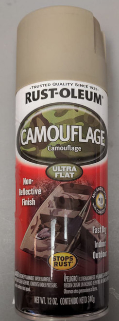 Rust-Oleum  Camouflage Spray Paint  -Ultra Flat
