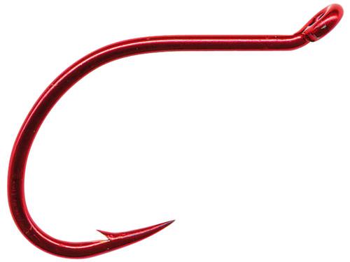 Mustad Double Wide Gap Bait / Drop Shot Hook - Red