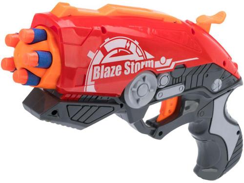 Blaze Storm Foam Blaster 7099 Single Action Dart Gun
