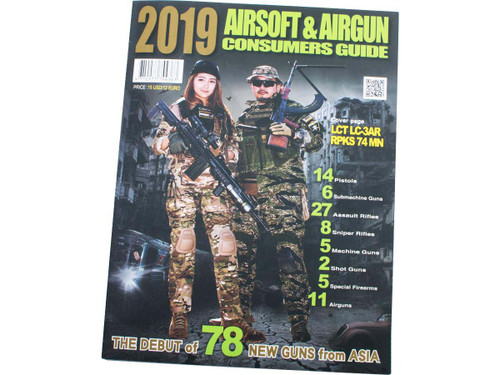 Combat King Airsoft Magazine - 2019 Airsoft Buyers Guide (Type: English Version)