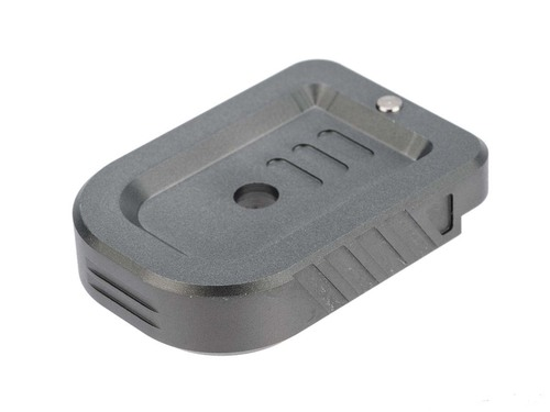 Dynamic Precision Aluminum Instinct Magazine Base Plate for Tokyo Marui Hi-Capa GBB Pistols (Model: Type A)
