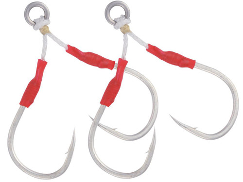 Owner Dual Dancing Stinger Junior Fishing Hooks (Size: 2/0 / 2 Pack)