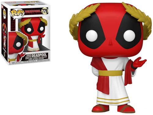 Funko POP! Marvel Heroes Vinyl Figure (Figure: 30th Anniversary Roman Senator Deadpool)