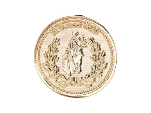 John Wick Ex Unitae Vires Continental Coin Luxury Enamel Pin