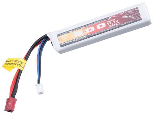 Matrix High Performance 11.1V Stick Type Airsoft LiPo Battery (Configuration: 900mAh / 20C / Short Wire)