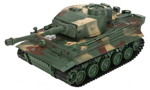 1:26 Scale RC Airsoft Battle Tank (Model: Tiger / Woodland)