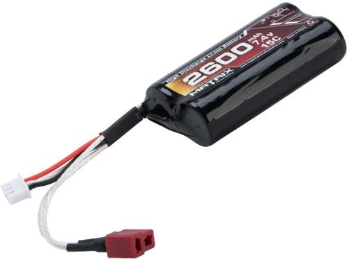 Matrix High Performance 7.4V Brick Type Airsoft Li-Ion Battery (Configuration: 2600mAh / 15C)
