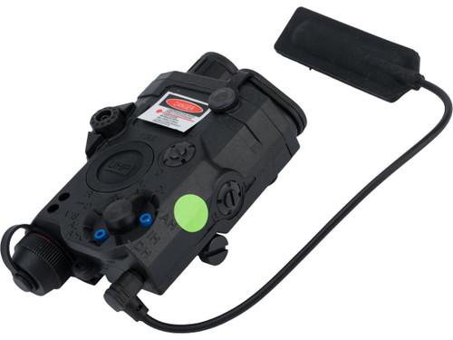 Element EX453 Dummy LA-5C PEQ15 Box w/ Green/Red Laser