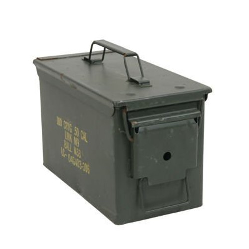 U.S. Armed Forces .50 Caliber Ammo Can