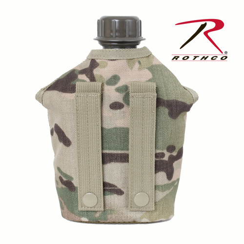 MultiCam MOLLE Compatible Canteen Cover