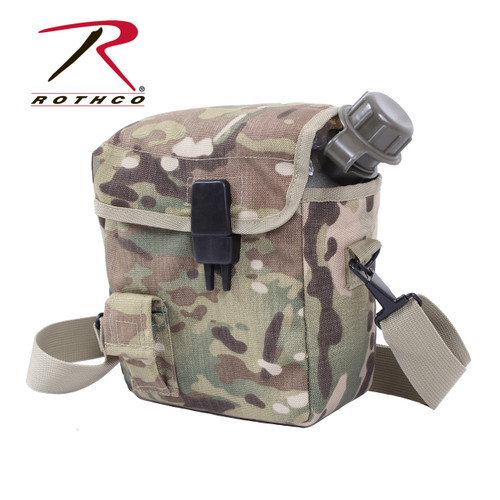 MOLLE 2 QT. Bladder Canteen Cover - MultiCam