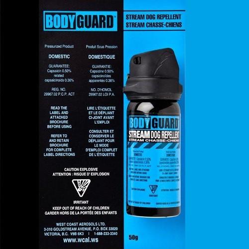 Bodyguard Dog Repellent 50g - Pepper Spray