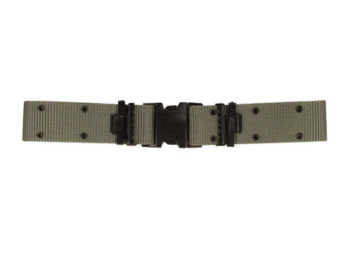 New Issue Marine Corps Style Quick Release Pistol Belt - Foliage Green