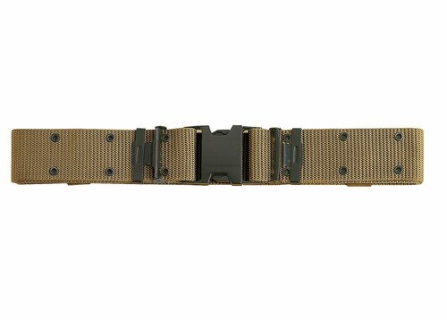 New Issue Marine Corps Style Quick Release Pistol Belt - Coyote Brown