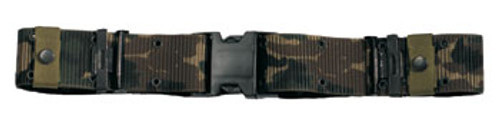 New Issue USMC Style Quick Release Pistol Belt - Camouflage
