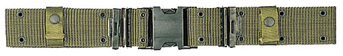 New Issue USMC Style Quick Release Pistol Belt - Olive Drab