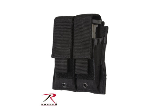 Double Pistol Mag Pouch - MOLLE
