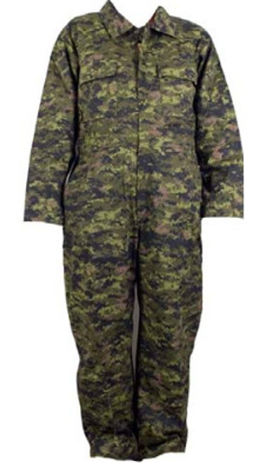 Unlined Coveralls - Canadian Digital Pattern
