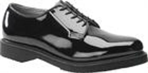 Corcoran Women's Oxford Black Shiny Clarino Shoe