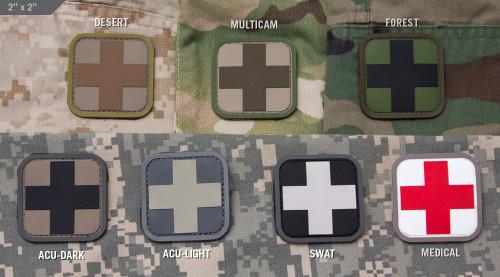 "Medic Square 2"" PVC - Morale Patch"