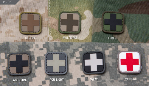 "Medic Square 1"" PVC - Morale Patch"