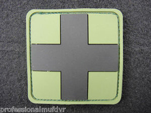 PVC Redcross Medic - Forest - Morale Patch