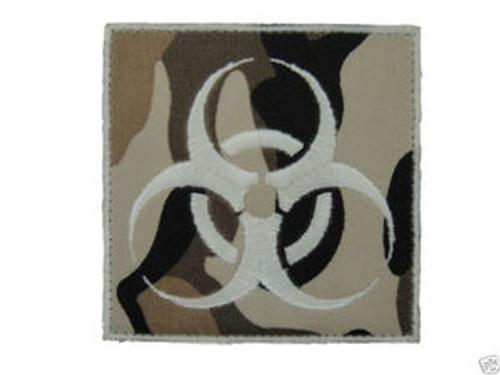 Biohazard Symbol - Camo - Morale Patch