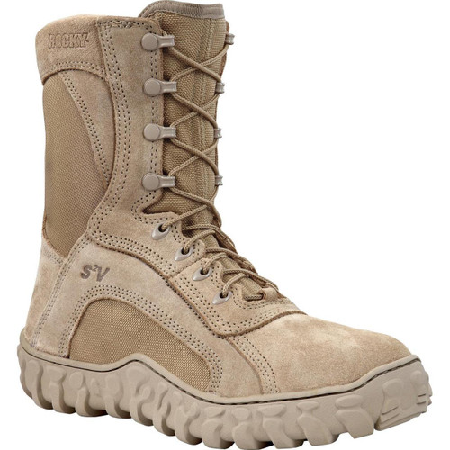 Rocky S2V GORE-TEX® Waterproof 400G Insulated Tactical Military Boot - Desert Tan