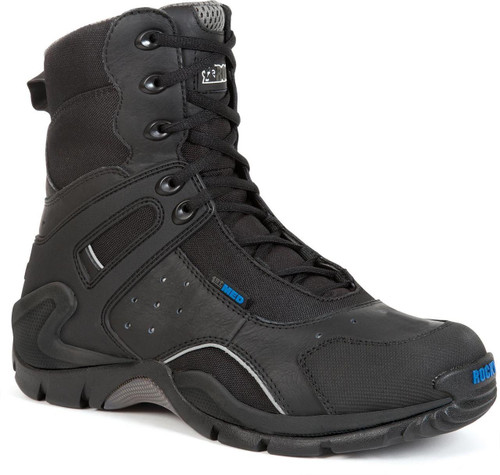 Rocky 1st Med Carbon Fiber Toe Side Zip Waterproof Boot