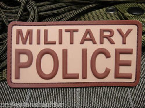 JTG Military Police PVC Desert  - Morale Patch
